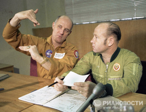 Vuelo conjunto Soyuz-Apolo