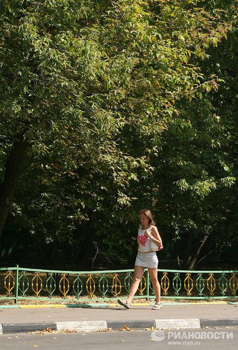 El otoño llega a Moscú en pleno julio