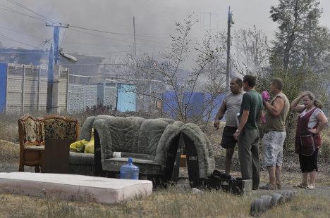 La ciudad rusa de Vorónezh cercada por el fuego de incendios forestales