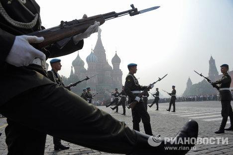 Tropas Aerotransportadas de Rusia festejan su 80 aniversario