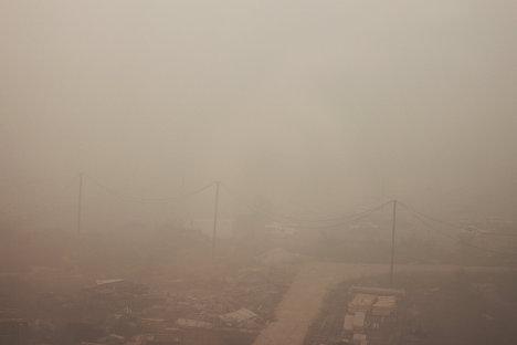Moscú se ahoga en el humo de los incendios forestales