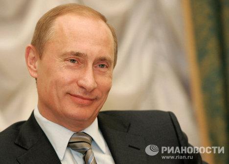 El primer ministro de Rusia, Vladímir Putin