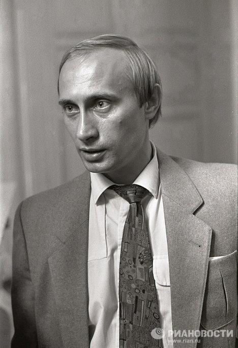 Заместитель мэра Ленинграда Владимир Путин