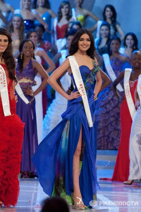 Финал конкурса красоты Мисс Мира 2010 в Китае