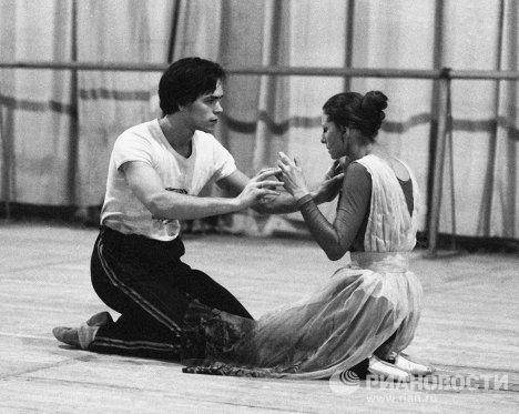 Артисты балета Плисецкая и Барыкин