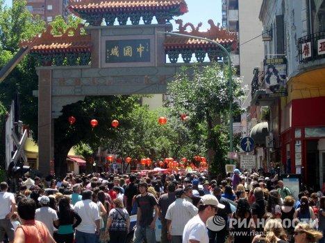 Celebraciones del Año Nuevo lunar en Buenos Aires