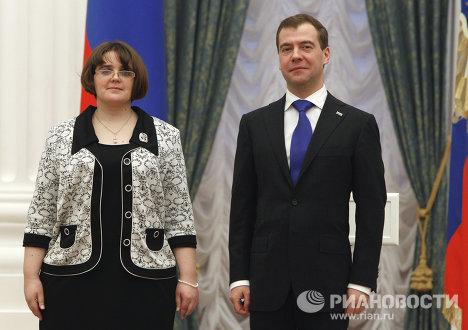 Д.Медведев провел рял мероприятий 8 февраля 2011 г.