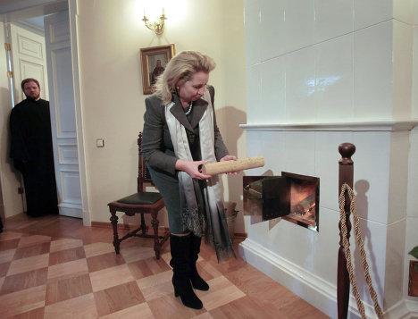 Светлана Медведева посетила Кронштадт