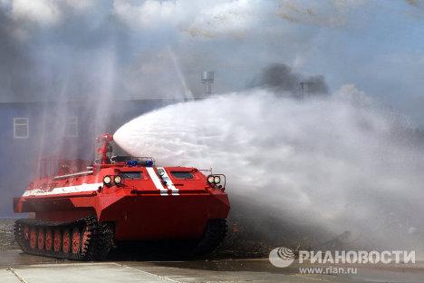 Показ новейших разработок МЧС России