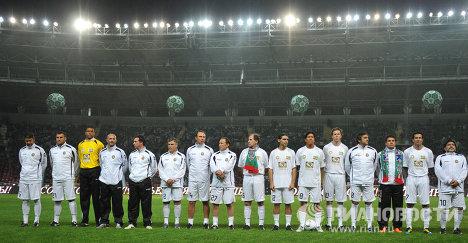Футболисты сборной звезд мирового футбола