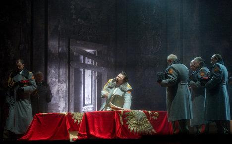 Прогон оперы Николая Римского-Корсакова Золотой петушок