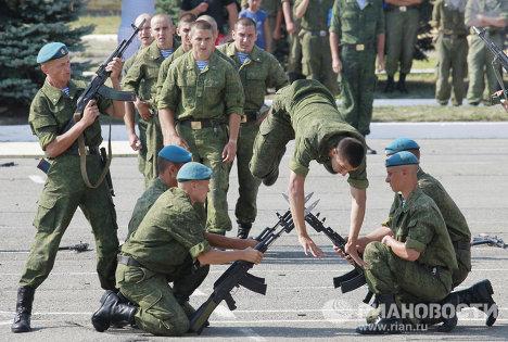 Празднование Дня Воздушно-десантных войск в Ставрополе