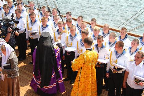 Транстихоокеанская экспедиция российского парусника Паллада