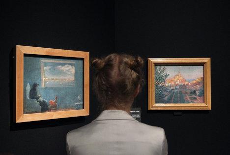 "Estoy delirando, entonces existo"". Exposición de Dalí en Moscú"