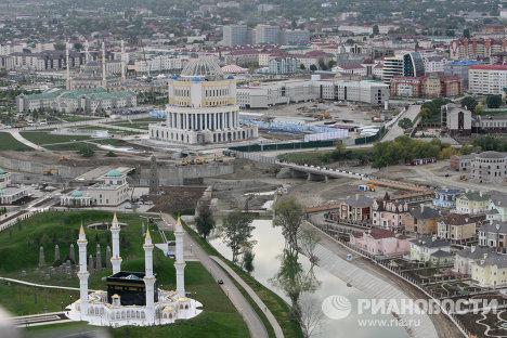 Города России. Грозный