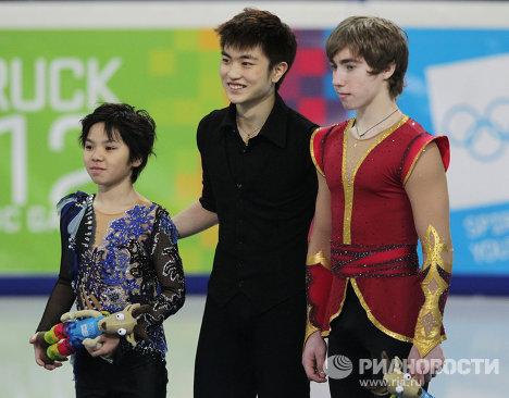 Зимняя юношеская Олимпиада -2012 . Фигурное катание. Мужчины