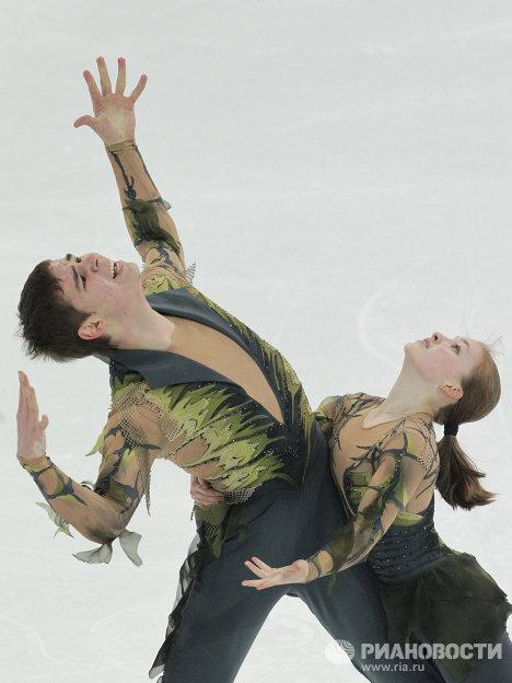 Зимняя юношеская Олимпиада -2012 . Фигурное катание. Пары