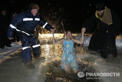 Крещенские купания в Вологодской области