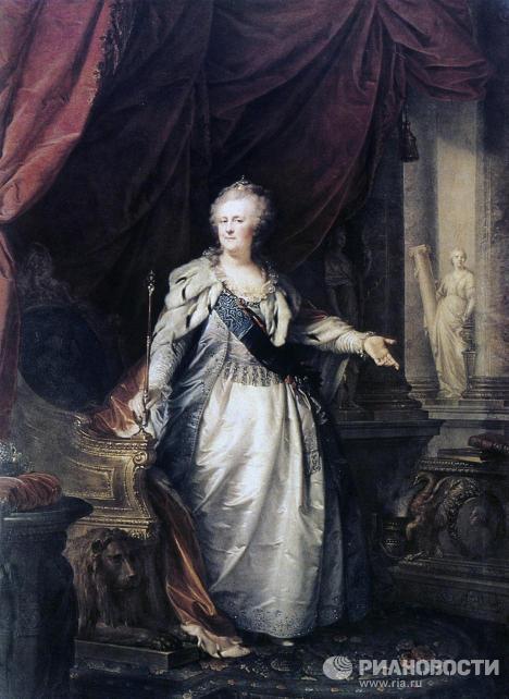 Парадный портрет Екатерины II