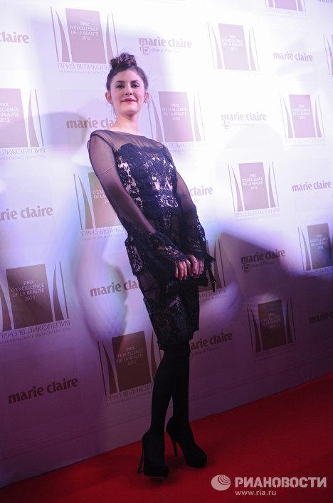 Церемония вручения премии Prix d'Excellence de la Beaute 2012