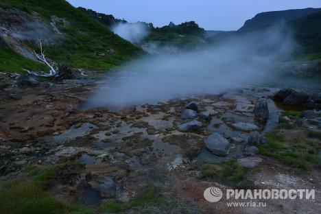 Долина Гейзеров в Кроноцком заповеднике