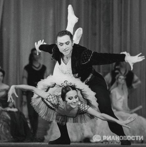 Бессмертнова и Тихонов в балете Дон Кихот