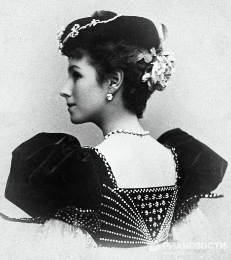Балерина Кшесинская