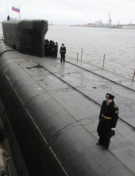 Атомный подводный крейсер Александр Невский. Архив