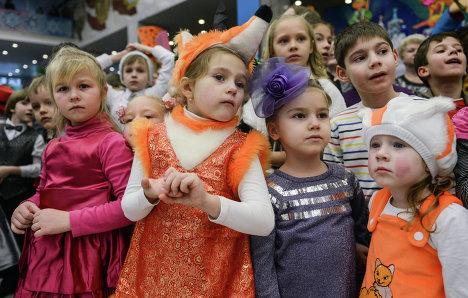 Новогодняя елка в Государственном Кремлевском дворце