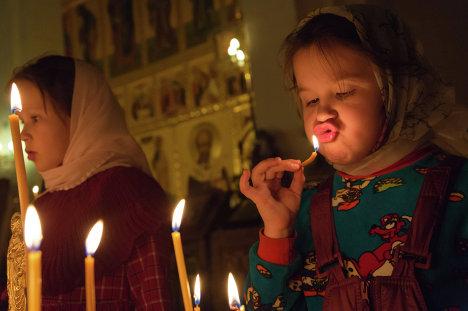 Празднование Рожедства Христова в Петропавловске-Камчатском