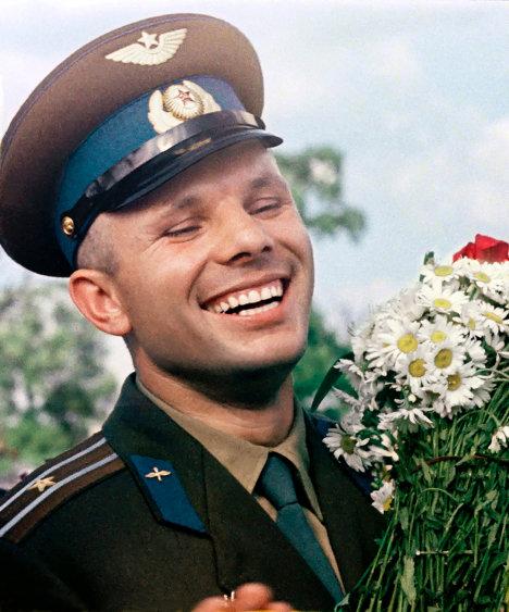 Episodios de la vida de Yuri Gagarin, el primer hombre que voló al espacio
