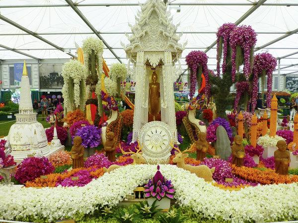 Цветочное шоу в Челси, Великобритания