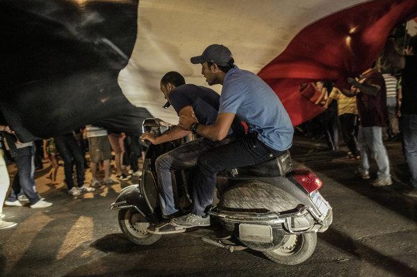 Массовые акции протеста в Каире