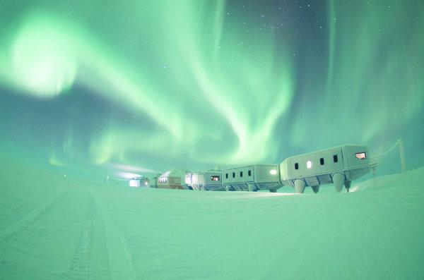 Выставка Ice Lab: проект полярной станции Halley VI (Великобритания)