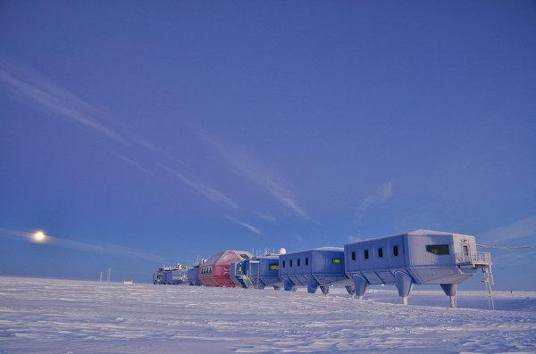 Проект полярной станции Halley VI (Великобритания)