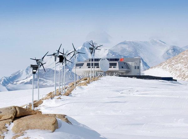 Выставка Ice Lab: проект полярной станции Princess Elisabeth Antarctica (Бельгия)