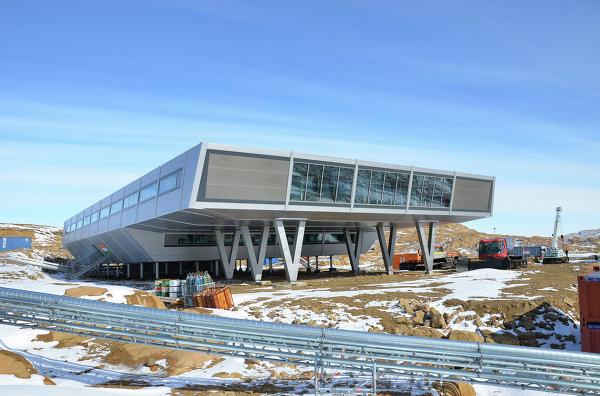 Проект полярной станции Bharati Research Station (Индия)