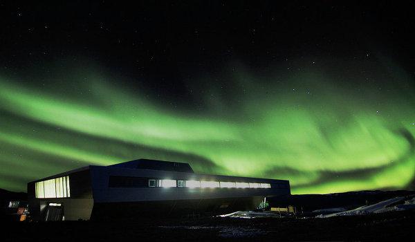 Выставка Ice Lab: проект полярной станции Bharati Research Station (Индия)