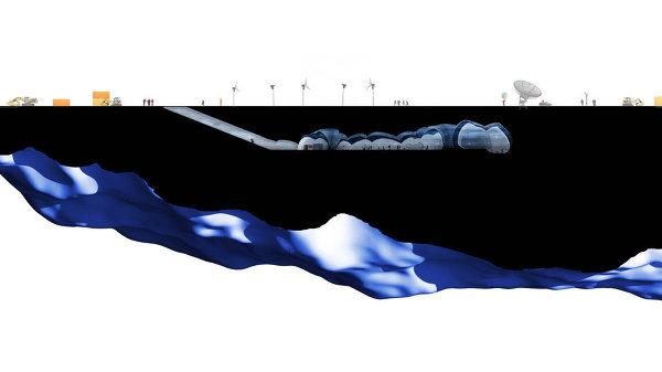 Выставка Ice Lab: проект полярной станции Iceberg Living Station (Дания)