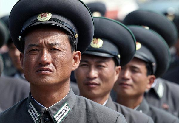Trabajadores de ferrocarriles de Corea del Norte