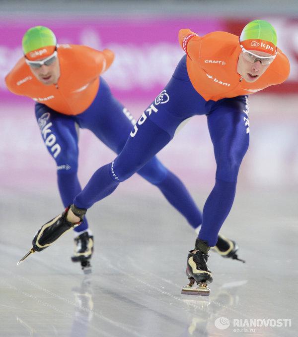 Конькобежный спорт. Чемпионат мира. 10000 метров. Мужчины