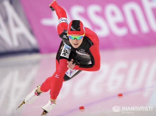 Конькобежный спорт. Чемпионат мира. 500 метров. Женщины