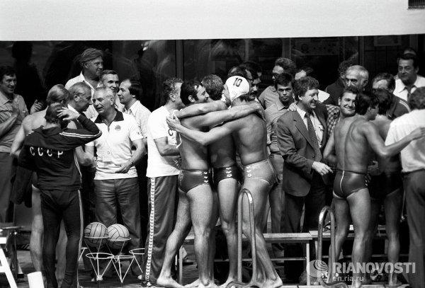 Члены сборной СССР по водному поло