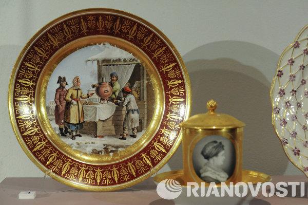 Выставка изделий Императорского фарфорового завода Возвращение легенды