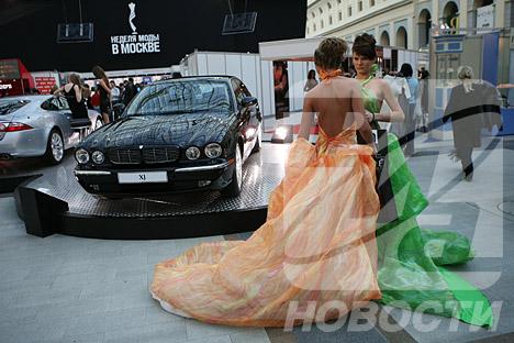 La Semana de Moda en Moscú