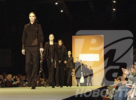 Demostración de la colección de la diseñadora moscovita Erica Zaionz