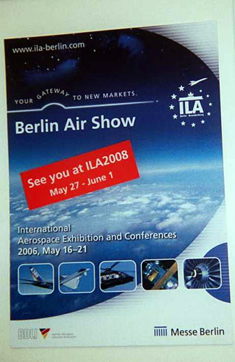 La Feria Aeroespacial ILA-2006