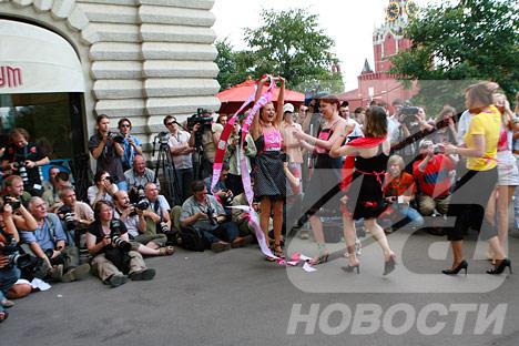 En Rusia tales certámenes se organizan en 4 ciudades: Ekaterimburgo, Moscú, Novosibirsk y San Petersburgo.