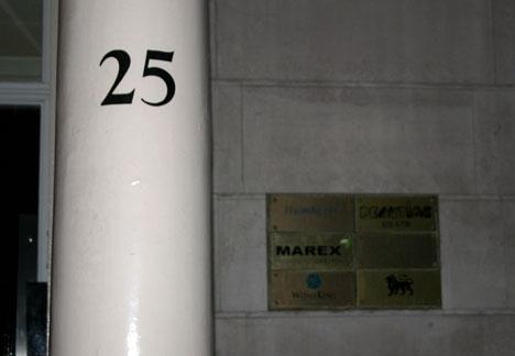Rastros del polonio 210 en Londres